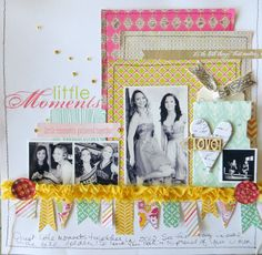 Lots to ♥ about this LO!!! ... by Melissa S. @ A Cherry On Top