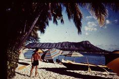 Diamond Head, Hawaii 1945