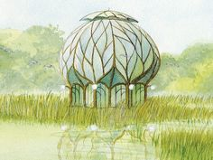 solarpunk - Google Search Greenhouse part 1
