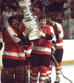 May 27, 1975 -  The Philadelphia Flyers defeated the Buffalo Sabres, 2-0, in Game 6 at Buffalo's Memorial Auditorium, winning their second straight Stanley Cup title. Flyers goalie Bernie Parent was named most valuable player of the post-season for the second time in succession.