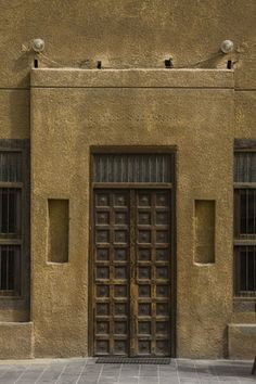 Kuwait Old door