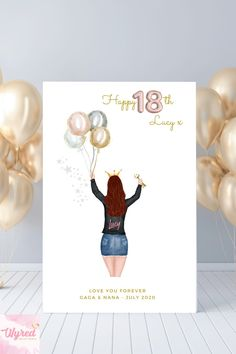 Gifts for her, Bestie, BFF, 18th Birthday, 21st Birthday #personalisedbirthdaygift #personalisedbirthday Personalized Best Friend Gifts, Personalized Birthday Gifts, Customized Gifts, Gifts For Friends, Gifts For Her, Presents For Men, Pretty Designs, All Family, Custom Wall