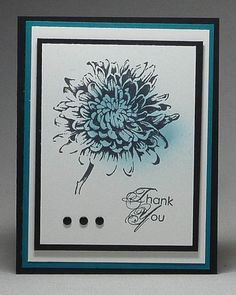 www.dreamingaboutrubberstamps.com - Blooming with Kindness Spritzer Card - use a few drops of ink refill with rubbing alcohol in a stampin up spritzer to color your image