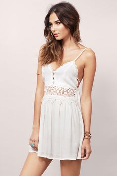 Totally Crushed Crochet Dress