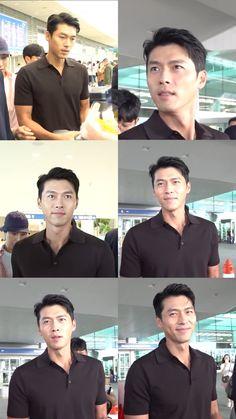 So graceful and friendly 🥰 Hyun Bin, Korean Actors, Korean Men, Asian Actors, Drama Korea, Korean Drama, Kdrama, Netflix, Asian Celebrities
