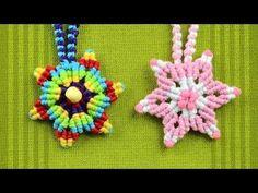 How to Make a Macrame Star Flower / Tutorial - YouTube
