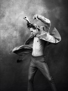 David Hallberg,the first American to become (for the 2011/2012 season) a premier or principal dancer with the Bolshoi Ballet.