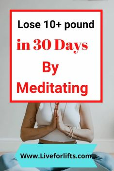 Learn how to lose weight through meditation with this great program! You'll see that sustainable weight loss is possible without diet or exercise. Lose Weight In A Month, Lose Weight Quick, Trying To Lose Weight, Losing Weight, Meditation Benefits, Meditation Quotes, Guided Meditation, Weight Loss Goals, Weight Loss Program