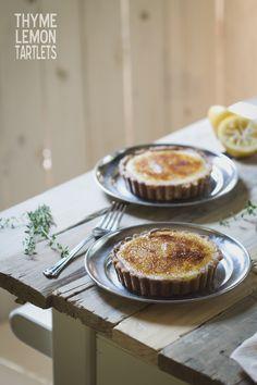 Thyme Lemon Tartlets via @Russell van Kraayenburg