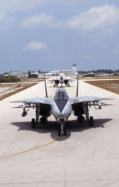 US Navy Grumman Tomcats of 'The Vampires' at Key West The Tomcat. awesome bird but a real pain to work on! Military Jets, Military Aircraft, Air Fighter, Fighter Jets, Tomcat F14, Photo Avion, Go Navy, Navy Aircraft, Armada