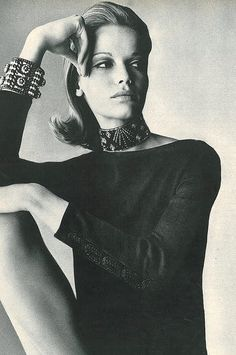 Veruschka, photo by Irving Penn for Vogue, 1965   Flickr - Photo Sharing!