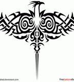 Impressive Tribal Phoenix Tattoos, Tribal Phoenix Tattoo Meaning Tattoo Tribal, Phönix Tattoo, Tattoo Hals, Body Art Tattoos, Tattoo Neck, Lotus Tattoo, Tattoo Maori, Tatoos, Phoenix Tattoo For Men