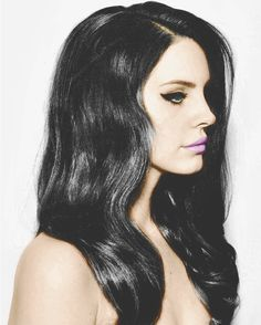 Lana Del Rey #LDR #Black_Beauty
