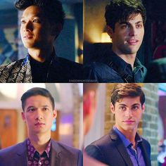 #Shadowhunters 1x04|1x10 - Magnus and Alec