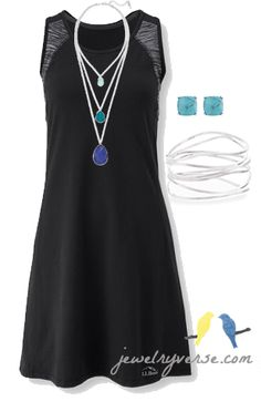 Another amazing look for a casual fitness LBD!!!!!! Take it from the gym to happy hour!