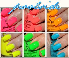 China Glaze Pool Side Collection face-bod