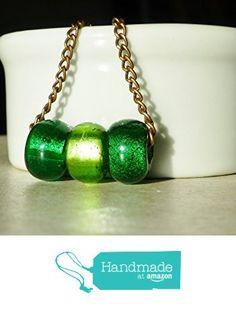 Green and Copper Chain Necklace / Minimalist Jewelry from DonkeyandtheUnicorn http://www.amazon.com/dp/B0180XS46A/ref=hnd_sw_r_pi_dp_apmswb1XP3ASW #handmadeatamazon
