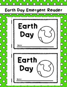 Earth Day Emergent Reader Perfect Sight Word Reader for kindergarten or PreK Earth Day Printable Earth Day Kindergarten Activities, Journeys Kindergarten, Earth Day Activities, Kindergarten Literacy, Literacy Activities, All About Earth, Love The Earth, Sight Word Readers, Sight Words