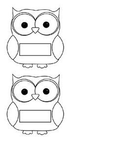 Classroom Job Chart, Owl Theme Classroom, Classroom Jobs, Owl Preschool, Preschool Classroom, First Day Activities, Back To School Activities, Owl Name Tags, Adult Coloring Pages
