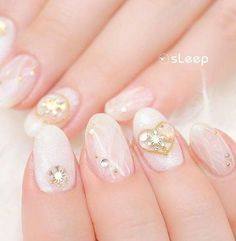 Don't spend all of your time looking for the best manicure for special occasions? Check out this ultimate easy holiday nail art designs guide now! Christmas Nail Art Designs, Holiday Nail Art, Christmas Nails, Heart Nail Designs, Heart Nail Art, Golden Heart, Beautiful Nail Art, Snowflakes, Valentines Day