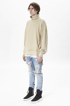 Back Zip Mockneck Sweatshirt | Fear of God