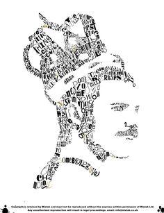 Freddie Mercury Typography