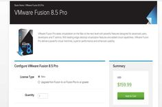 Save up to 33% on VMware Fusion Pro 8 Take the offer and save 33% on virtualization software and this software VMware provides VMware vSphere Essentials Kit Deal It is the best opportunity for VMware interested software.