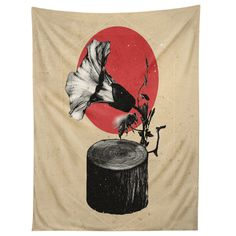 Ali Gulec Gramophone Tapestry | DENY Designs Home Accessories