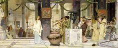 Alma - Tadema, Sir Lawrence - Bağbozumu festivali http://www.canvastar.com/index.php?cPath=118_167