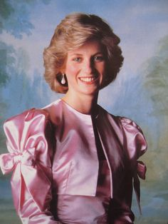 Princess DianaA very happy Princess Diana in a formal photograph..........
