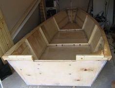 """A 15'8"""" fishing punt 