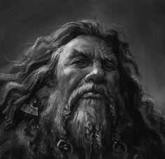 m Dwarf Warlock Leather Armor portrait underdark Fantasy Dwarf, Fantasy Warrior, Fantasy Rpg, Medieval Fantasy, Character Portraits, Character Art, Character Design, Character Ideas, Male Portraits