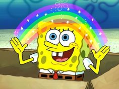 SpongeBob Fans Celebrate Nickelodeon's Pride Month Post on Social Media