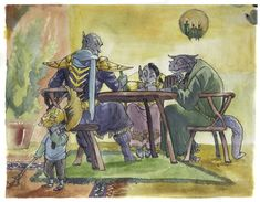 Ordinator with his family (Morrowind)