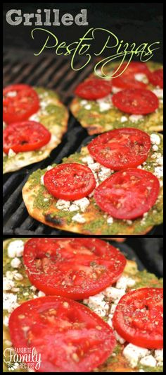 These Grilled Pesto