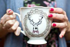 Urban outfitters tea my deer cup