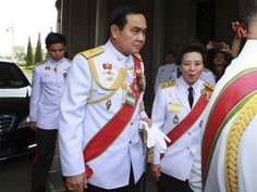 Three months after overthrowing Thailand's last elected government, this Southeast Asian nation's junta leader is stepping out of his army u...