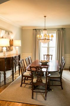 Kat Nelson Designs~Dining room