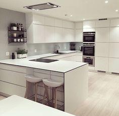 Küche In U Form Planen   50 Ideen Und Tipps | Küche | Pinterest | Geplant, Form  Und 50er