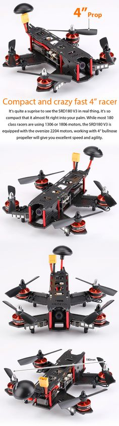 Storm Multirotors STORM Racing Drone (RTF / SRD180 V3 / CleanFlight) - HeliPal Drone Model, Geek Tech, Drone Technology, Rc Helicopter, Cool Tech, Electrical Engineering, Rc Cars, Drones