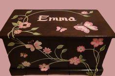 Butterfly Toy Box Custom Designed by originalsbybarbmazur on Etsy, $279.00