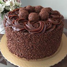 Chocolate Cake Designs, Best Chocolate Cake, Chocolate Desserts, Baking Recipes, Cake Recipes, Snack Recipes, Dessert Recipes, Köstliche Desserts, Delicious Desserts