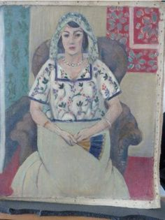 Gurlitt collection, Henri Matisse, Sitzende Frau, 1922