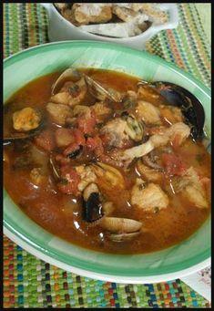 Zuppa di pesce senza spine , buonissima ! #zuppadipesce #ricette #ricettegustose