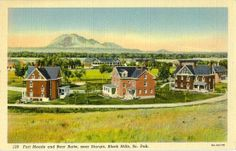 fort meade south dakota | ... to south dakota penny post card archives meade county faith fort meade