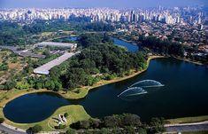 Parque Ibirapuera em São Paulo