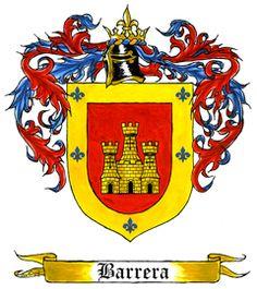 Barrera family crest