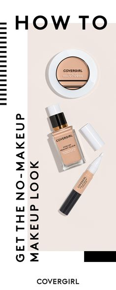 For natural-looking, flawless skin try these 3 products from COVERGIRL's Vitalist family -- Healthy Concealer, Healthy Powder and Go Glow Luminizing Lotion. Infused with vitamins, these hydrating products will leave you with that coveted natural glow.