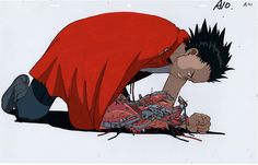 Tetsuo Original Cel Animation