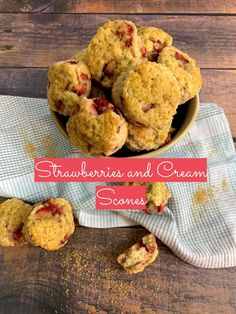 These Strawberries and Cream Scones check off all the boxes when it comes to delicious sweet treats in a tiny package. They are moist and tender on the inside, filled with the delicate fruity sweetness of fresh strawberries, and topped with a lovely golden sugar crust.    #mysweettoothbakery #teaparty #teatime #scones #sconesandcream  #downtonabby#timefortea #instantpot #clottedcream #british #breakfast #brunch #hightea #afternoontea #cream #britishtea #teaandscones Cream Scones, Blueberry Scones, Just Bake, Clotted Cream, Pastry Blender, Strawberries And Cream, Lemon Curd, High Tea, Afternoon Tea